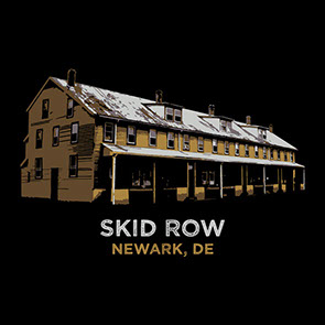 Skid Rowm, Newark, DE t-shirt